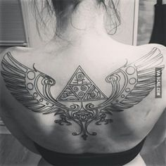 I heard you like Legend of Zelda tattoos. Just wanted to show you mine. With Avatar:tla Elements inside the triforce ❤