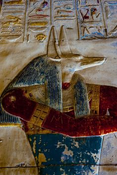 awesomepharoah: Wall Reliefs at the Temple of...