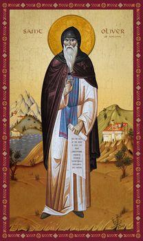 Icon of Saint Oliver of Ancona