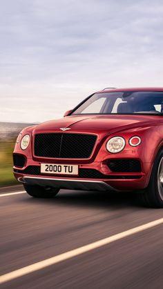 Luxury vehicle, Bentley Bentayga, on-road, front, 720x1280 wallpaper