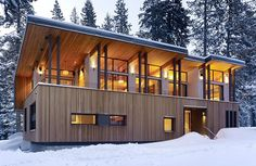 [ Contemporary Mountain Residence John Maniscalco Architecture Home Stunning Contemporary Timber Frame Mountain Home Kadenwood ] - Best Free Home Design Idea & Inspiration Modern Mountain Home, Mountain Homes, Mountain Style, Mountain Village, Mountain View, Architecture Résidentielle, California Architecture, Building A Container Home, Container Buildings