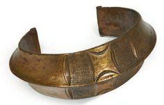 Gabon | Old bronze anklet from the Kota or Fang people | Est. 800 - 1000€
