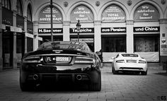 Black and White. Monster Car, Luxury Sports Cars, Aston Martin Dbs, Dream Machine, China, Love Car, Fast Cars, Cars Motorcycles, Black And White