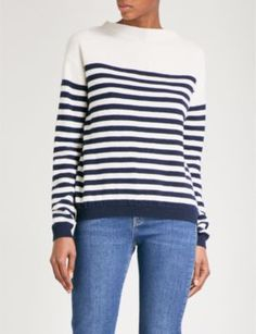 MIH JEANS - Margot striped wool jumper | Selfridges.com