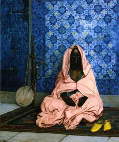 The Black Poet by artist Jean-Leon Gerome. hand-painted museum quality oil painting reproduction on canvas. Black Poets, Jean Leon, Academic Art, Oil Painting Reproductions, Arabian Nights, Romanticism, Black Art, Art History, Oil On Canvas