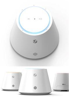 LG Uplus IoT Hub IHU50 | Nur scheinbar ein Amazon Echo  Der LG Uplus IoT Hub wurde unmittelbar für die Smart Home Steuerung entwickelt » Der Uplus steuert LG Geräte und Geräte anderer Hersteller.  Der LG Uplus Home IoT Hub IHU50 könnte eine wahre Bereicherung für den Z-Wave-Markt sein.  #smarthome #tech #zwave #technology #homeautomation #iot #news #automation #lg