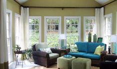 Curtains Sunroom Window Treatments                                                                                                                                                                                 More