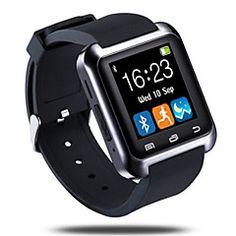 Bluetooth3.0+Smart+Uhr+Schrittzähler+Schlaf+überwachen+sync+Anruf+Nachricht+für+Android-Handy+–+EUR+€+24.27