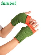 >> Click to Buy <<  CHAMSGEND Drop Shipping 2017 New Fashion Elegant Winter Wrist Arm Hand Warmer Knitted Long Fingerless Gloves Mitten luva JUN27 #Affiliate