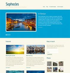 Sophocles Service / Product / Review theme for WordPress