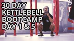 Kettlebell Home Workout Bootcamp Day 1 for Muscle Growth and Fat Loss | ...