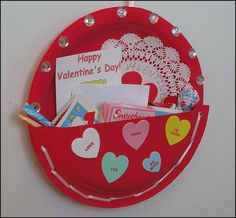 Where will all the Valentines go Heres a cute idea Paper