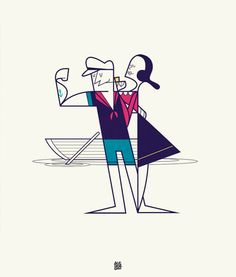 8 Ilustradores para alegrarte el final del verano - SLEEPYDAYS