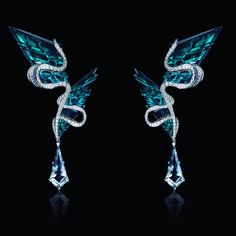 @victor_falcao_designer. #diferentcut #diamont #earrings #aquamarine #braziliandesign #art #design #jewelry #jewelrydesing