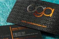 Image result for spot uv business cards