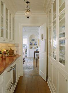 Butlers pantry door