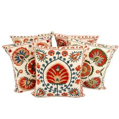 Andara Suzani Hand Embroidered Cushion Covers #home