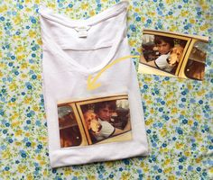 DIY Father's Day Tee - I actually did this for Father's Day and it turned out awesome. One of my favorite tees now!