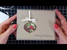 ▶ Mass Producing Christmas Cards #3 Ornament Punch - YouTube
