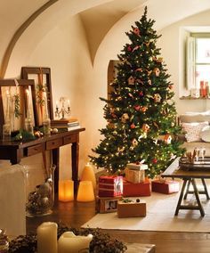 Casinha colorida: Inspiração: árvores de Natal para 2016