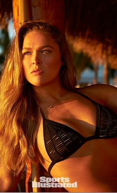 See photos of UFC champ Ronda Rousey in this year's Sports Illustrated Swimsuit issue. Ronda was photographed in Captiva Island by photographer Walter Iooss Jr. Ronda Rousey, Sports Illustrated Swimsuit 2015, Sports Illustrated Models, Si Swimsuit, Swimsuit Cover, Kickboxing, Muay Thai, Jiu Jitsu, Mma