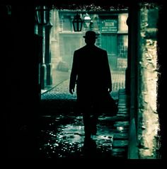 Ripper Street - Edmund Reid silhouette