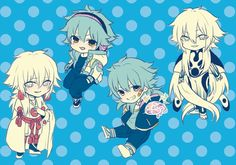 Shiroba, Aoba Seragaki, Sly Blue, Scrap