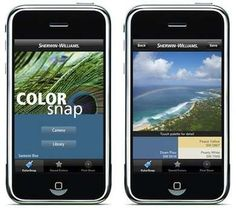 """Utilize New Technology - Bright Paint Colors - 7 Tips for a Bolder Palette at Home - Bob Vila Utilize New Technology Web tools and smartphone apps have completely transformed the color selection process—for the better! One example is Sherwin-Williams's ColorSnap, a mobile app that shows what different shades would look like on the walls of any room you've """"snapped"""" a photo of."""