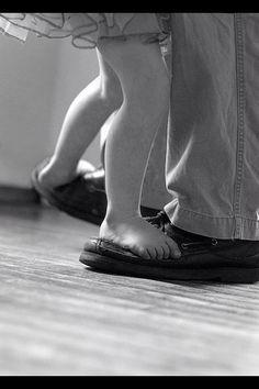 Vader/dochter dance ❤️