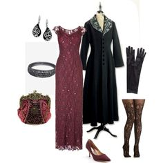 """Winter evening at the opera"" by maria-kuroshchepova on Polyvore"