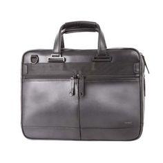 Samsonite-Mover-LTH-Leather-15-6-034-Laptop-Briefcase-Black