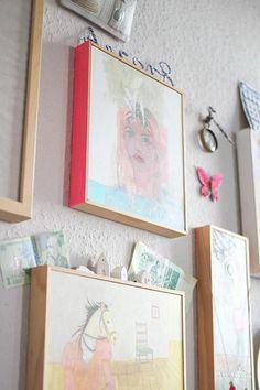 Diy dorm room crafts : DIY: Taped Frames