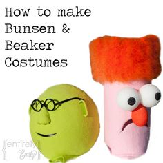 Entirely Emily: How to make Bunsen and Beaker Costumes