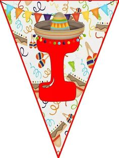 Mexico Party, Free Prints, Party Fashion, School Projects, Birthdays, Playing Cards, Clip Art, Kids, Crafts