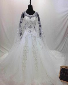 Find More Wedding Dresses Information about Dubai Arabic Luxurious O Neck…