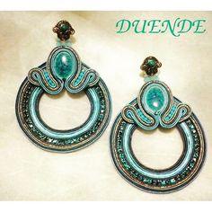 Drop Earrings, Instagram, Jewelry, Soutache Jewelry, Neutral Colors, Accessories, Fabric Flowers, Jewlery, Bijoux