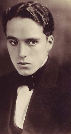A young smokin' hot Charlie Chaplin from Susie Bright's grandma's silent film photo collection.
