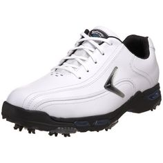 Callaway Men's Bio-Kinetic Tour Golf Shoe,White/White/Silver,US Men's 9.5 M Callaway. $59.99. Amazon.com                Fuel your passion in professional style in this men's Bio-Kinetic Tour golf shoe by Callaway. Loaded with features to enhance your every stroke, the shoe's full-grain leather upper and Comfort Tech midsole ensure unmatched reliability on or off the course, with a moisture-wicking lining and waterproof technology to keep you dry come rain or s...