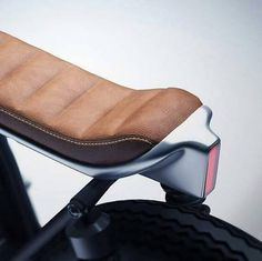 Amazing motorcycle seat / light