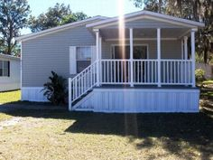The idea will look wonderful Manufactured Home Remodel Remodeling Mobile Homes, Home Remodeling, Manufactured Home Porch, Manufactured Housing, Mobile Home Repair, Custom Closet Design, Porch Kits, Mobile Home Living, Rv Living