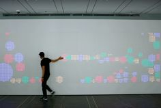 An Interactive Wall at Google Is Made From Thousands of Arcade Buttons | Mental…