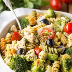 Try this Pesto Chicken Pasta Salad recipe at your next summer BBQ or picnic. It's easy to make, versatile and packed full of flavour.