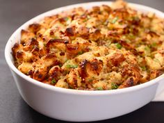 Classic Sage and Sausage Stuffing (or Dressing) | Serious Eats: Recipes - Mobile Beta!""
