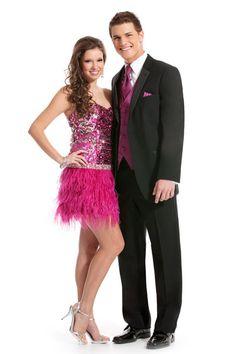 Joseph Abboud Ruby tuxedo #tuxedo #prom
