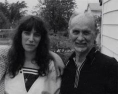 Patti Smith with her father