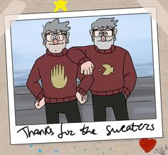julientel:  I can easily picture Mabel knitting matching sweaters for her favourite grunkles.