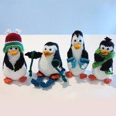O-So-Cute Penguins amigurumi pattern by Sahrit