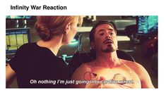 Infinity War Reaction #ThanosDemandsYourSilence