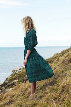 love this dress! #dress #green #midi #summerstyle