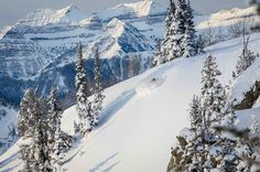 Enter the white room @ Jackson Hole. Powder Shots | Best Photos | Skiing Magazine